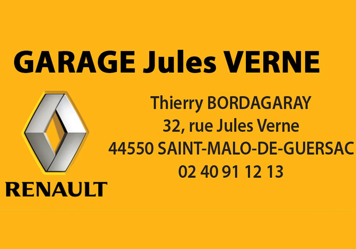Logo garage jules vernes